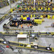 Amazon rüstet sich für das Weihnachtsgeschäft: Ein Blick in den Standort Leipzig (Foto)