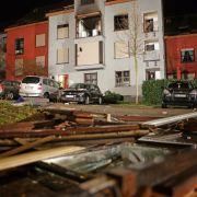 4 Tote nach Explosion in Wohnhaus in Karlsruhe (Foto)