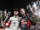 """Gemeinsam mit Michael Schumacher war Sebastian Vettel beim """"Race of Champions"""" sechs Mal siegreich. (Foto)"""