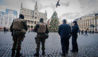 In Brüssel gilt derzeit die höchste Terrorwarnstufe. (Foto)