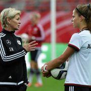 DFB-Frauen mit Nullnummer bei WM -Revanche gegen England (Foto)