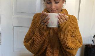 Auch mit diesem Bildchen bei Instagram kann es Cathy Hummels ihren Fans nicht recht machen. (Foto)