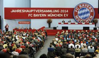Die Jahreshauptversammlung des FC Bayern München im letzten Jahr. (Foto)