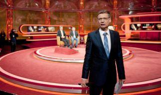 Günther Jauch geht, sein letzter Gast ist Bundesfinanzminister Wolfgang Schäuble. (Foto)