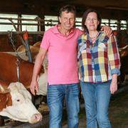 Frust bei Gottfried: Hat Brigitte die Nase voll vom Landleben? (Foto)