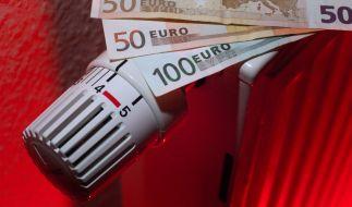 Heizkosten können finanziell schlimm zu Buche schlagen. (Foto)