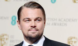Leonardo DiCaprio muss sich keiner Bären-Attacke erwehren. (Foto)
