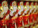 Geschmacklich konnten die Lindt-Weihnachtsmänner überzeugen, doch in anderen Bereichen waren die Werte bedenklich. (Foto)
