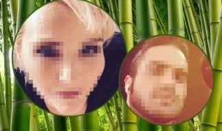 Zwei bekannte Gesichter wollen mit Kakerlaken und Maden hausen. (Foto)