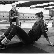 Die meisten Bilder stammen aus den privaten Fotoalben der Eiskunstläuferin.