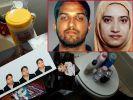 Die Attentäter von San Bernardino. (Foto)