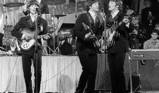 Schlagzeug vom ehemaligen Beatles-Mitglied Ringo Starr für knapp 2 Millionen Euro versteigert. (Foto)