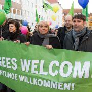 Mordaufrufe gegen Claudia Roth und Angela Merkel (Foto)