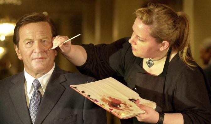 Hätten Sie ihn erkannt? Ja, das soll unser ehemaliger Bundeskanzler Gerhard Schröder sein. (Foto)