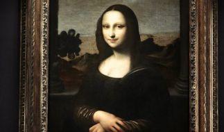 Ein französischer Forscher behauptet bei der Mona Lisa einen spektakuläre Entdeckung gemacht zu haben. (Foto)