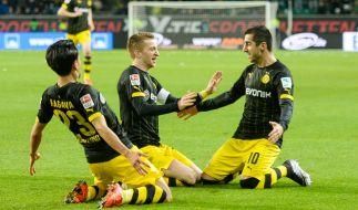 Kann sich Dortmund im letzten Spiel der Gruppenphase die Tabellen-Spitze zurückholen? (Foto)