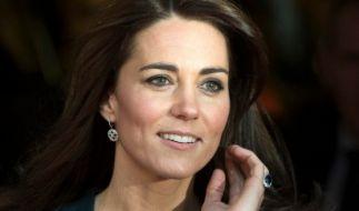 Herzogin Kate erlebte mit ihrem Mann, dank einer nackigen Show-Einlage, einen unvergesslichen Tag an der Londoner Börse. (Foto)