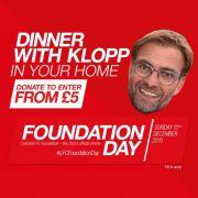 Der FC Liverpool verlost ein Abendessen mit seinem Trainer (Foto)