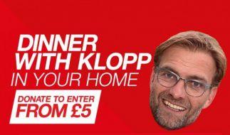 Spenden Sie für einen guten Zweck und gewinnen Sie ein Abendessen mit Jürgen Klopp. (Foto)
