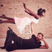 """Dirty Dancing"" mit Nikeata Thompson und Bürger Lars Dietrich (Foto)"