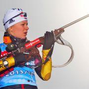 Biathlon-Finale in Hochfilzen - Staffelsieg knapp verpasst (Foto)