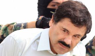 """Sieht seine Drogengeschäfte in Gefahr: Joaquin """"El Chapo"""" Guzman. (Foto)"""