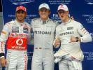 Nico Rosberg ehrt Michael Schumacher: Der Erfolg von Mercedes wäre ohne Schumi nicht möglich. (Foto)