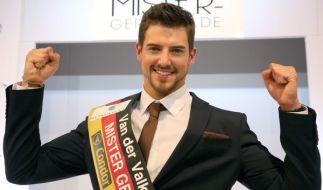 Strahlender Sieger: Florian Mohlzdorf ist Mister Germany 2016. (Foto)