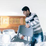 Nur jeder 50. Flüchtling findet Arbeit (Foto)