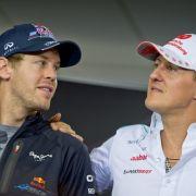Michael Schumacher ist das große Vorbild von Sebastian Vettel. Seit 2014 fährt er für Ferrari in der Formel 1.