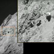 Nimmt Raumsonde Rosetta hier ein UFO auf? (Foto)