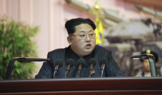 Kim Jong Un verurteilt regelmäßig Staatsfeinde. (Foto)