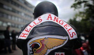 Mitglieder der Hells Angels sollen einen Unfall mit Todesfolge verursacht haben. (Foto)