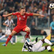 Franck Ribery erleidet erneut schwere Verletzung (Foto)