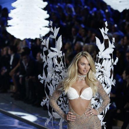 Von wegen Engel! Victoria's-Secret-Models befummeln sich (Foto)
