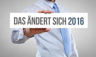 Im Jahr 2016 will die Bundesregierung den Steuerzahler entlasten. (Foto)