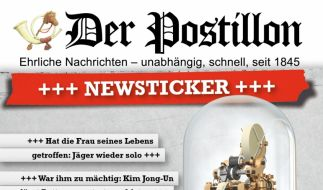 """""""Der Postillon"""" hat schon so manchen Internetnutzer aufs Glatteis geführt. (Foto)"""
