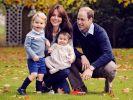 Die süßen Weihnachtsgrüße von William und Kate. (Foto)