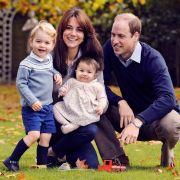 Herzogin Kate Middleton, Prinz William und die Kids senden Weihnachtsgrüße (Foto)