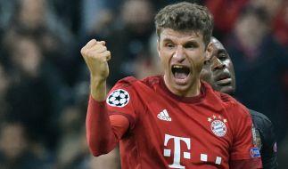 Grund zur Freude! Thomas Müller verlängerte seinen vertrag beim FC Bayern bis 2021. (Foto)