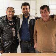 Gastfreundliche Flüchtlinge (Foto)