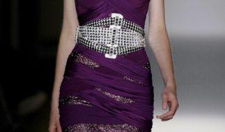 Auf den Modestegen der Welt: Die meisten Models sind gefährlich dünn. (Foto)