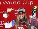 Schweizerin Lara Gut war den anderen eine Nasenlänge voraus. (Foto)