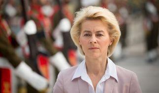 Ursula von der Leyen geht mit gutem Beispiel voran. (Foto)