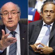 FIFA-Chef Blatter und UEFA-Präsident Platini verurteilt (Foto)