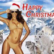 """The Royals""-Darstellerin begeistert im sexy Santa-Outfit (Foto)"