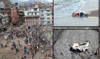 Die Katastrophen 2015 kosten unzähligen Menschen das Leben. (Foto)
