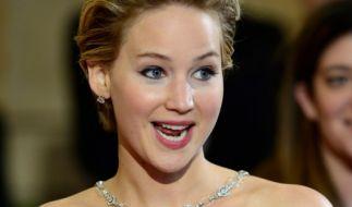 Jennifer Lawrence ist stets gut gelaunt. Woran das wohl liegt? (Foto)