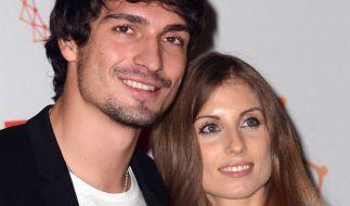 Kommt nach der Hochzeit jetzt der erste Nachwuchs bei Mats und Cathy Hummels? (Foto)
