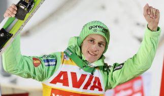 Das derzeitige Maß aller Dinge: Der Slowene Peter Prevc. (Foto)